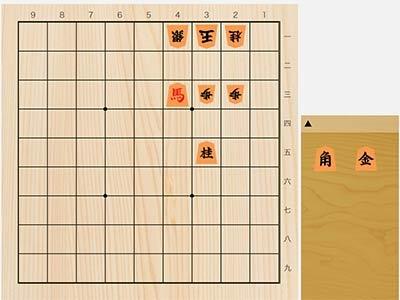 2021年8月16日の詰将棋(3手詰)
