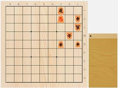 2021年8月27日の詰将棋(5手詰)
