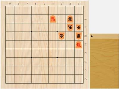 2021年9月7日の詰将棋(5手詰)