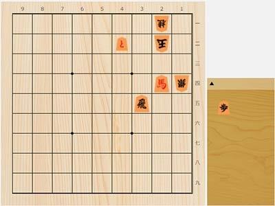 2021年9月8日の詰将棋(7手詰)