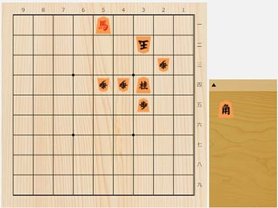 2021年9月16日の詰将棋(3手詰)