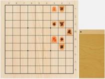 2021年9月21日の詰将棋(5手詰)