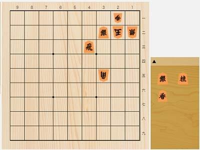 2021年9月25日の詰将棋(東和男作、11手詰)